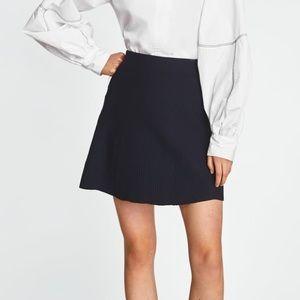 🎀NEVER WORN🎀 Zara charcoal skater skirt